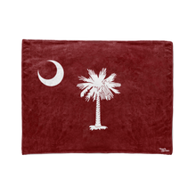 Garnet South Carolina Flag Stadium Blanket