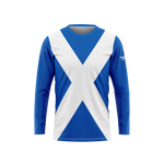 Scotland Flag Long Sleeve Performance Shirt
