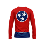 Tennessee Flag Long Sleeve Performance Shirt