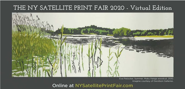 New York Satellite Print Fair - online virtual advertisement
