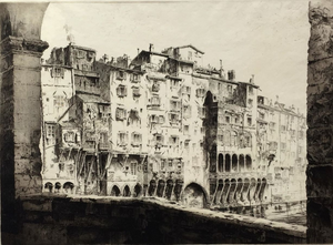 John Taylor Arms: From the Ponte Vecchio, Florence