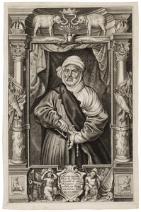 Paulus Pontius: Portrait of Mulay Hasan, 1645