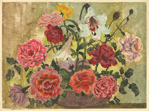 Meta C. Hendel: (Still Life with Lilies and Roses)