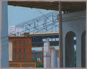Thomas R. Roese: 824 CLE Series:  Summer Flats w/Bridges.