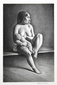 Rockwell Kent: Rockwell Kent Greenland Mother Nursing Child