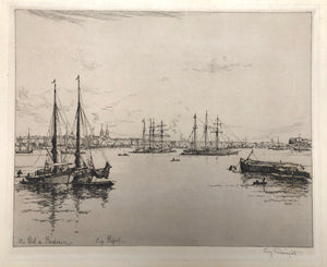 Eugene Bejot: Le Port de Bordeaux