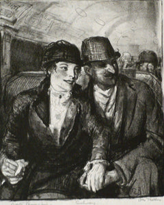 George Bellows: IN THE SUBWAY