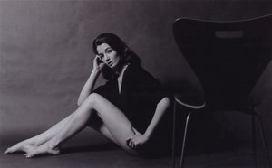 Lewis Morley: Christine Keeler Seated With Chair