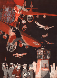 Warrington Colescott: Decline and Fall of Air Force One
