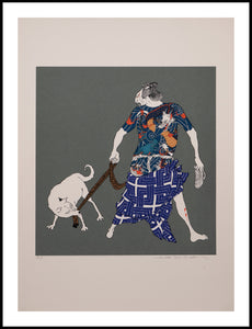 Hideo Takeda: Monmon: Tattooed Man and Dog