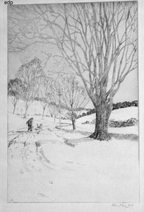 John A. Dix: WINTER SCENE