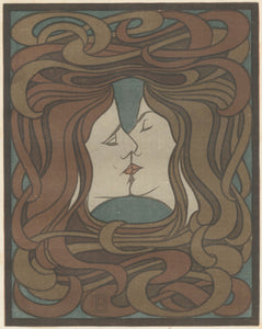 Peter Behrens: Der Kuss  The Kiss (plate facing page 116)