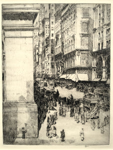 Childe Hassam: Fifth Avenue, Noon