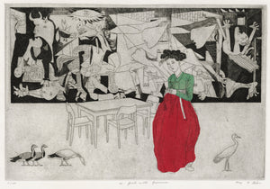 Kay Y. Gim: A Girl with Guernica