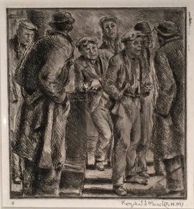Reginald Marsh: BOWERY