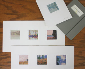 Micah Schwaberow: Homage to Monet – Seven Fragment of Compositions by Claude Monet