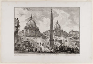 Giovanni Battista Piranesi: a selection of plates from the LE MAGNIFICENZE DI ROMA