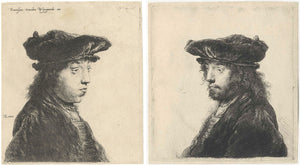 van Rijn Rembrandt: The Fourth Oriental Head