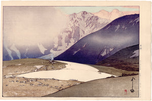 Hiroshi Yoshida: 吉田博 Yoshida: Tateyama Betsuzan in the Japan Alps