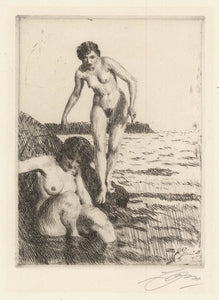 Anders Zorn: On Hemso Island