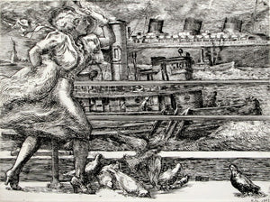 Reginald Marsh: Battery (Belles)
