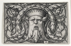 Hans Sebald Beham: Panel with a Mascaron