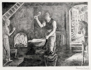 Hermine David: Marechal Ferrant (The Blacksmith)