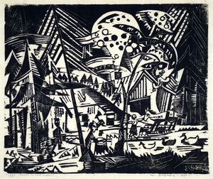 Werner Drewes: Farm in the Woods