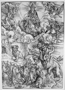 Albrecht Durer: Beast with Two Horns Like a Lamb from the Apocalypse