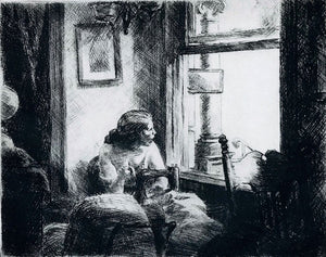 Edward Hopper: East Side Interior