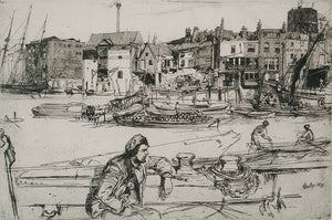 James Abbott McNeill Whistler: Black Lion Wharf