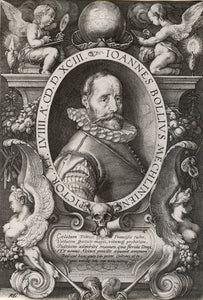 Hendrick Goltzius: Portrait of Hans Bol, the Painter, at age 58
