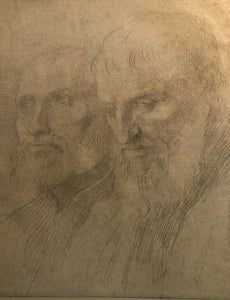 Legros, Alphonse: [Two older, bearded men]