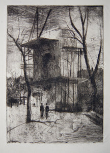 Weir, J. Alden: Washington Arch,  No. 2