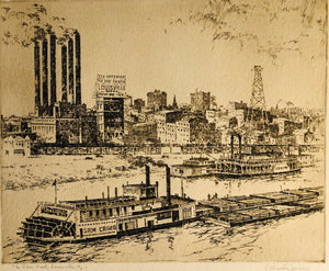 Haberer, C. Winston: The River Front, Louisville