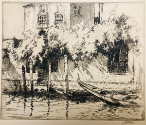 Cotton, John Wesley: Venice, The Landing