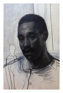 WILSON, John: Untitled (Portrait of the Artist's Brother)