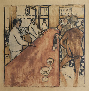Jean-Emile Laboureur: The Bar in Pennsylvania