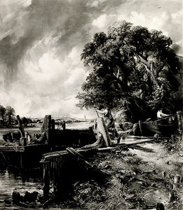 John Constable: The Lock -- Large Plate