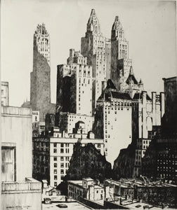 Lawrence Nelson Wilbur: Manhattan Mountains