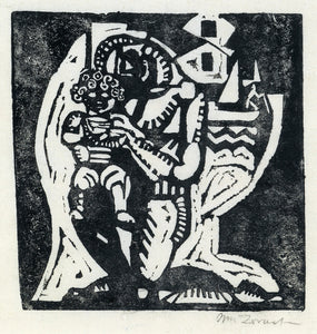 William Zorach: Father and Child