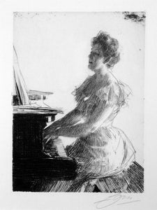 Anders Zorn: At the Piano