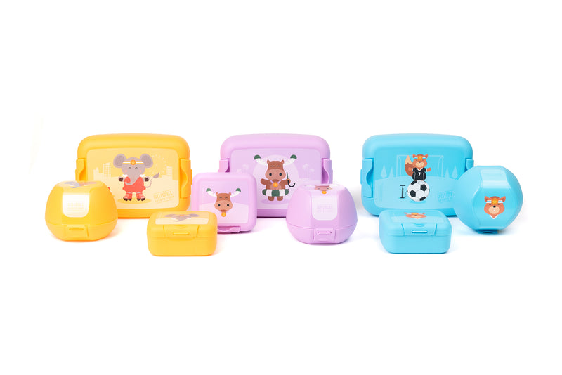 Apple box Sporty Animals (Min. 2 pieces)