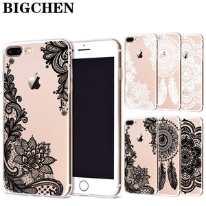Floral Lace Mandala iPhone Case