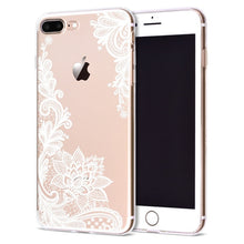 Load image into Gallery viewer, Floral Lace Mandala iPhone Case
