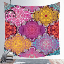 Load image into Gallery viewer, Indian Mandala Tapestry
