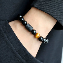 Load image into Gallery viewer, Constellation Stone Bead Reiki Bracelet