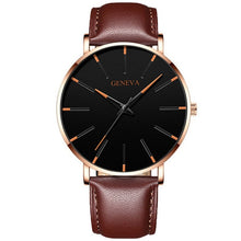 Load image into Gallery viewer, Minimalist Men's Ultra Thin Steel Mesh Quartz Watches