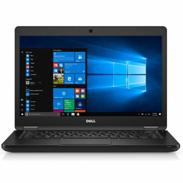 Dell Latitude 5480 - i5 6440HQ @2.60GHz, 8GB RAM, 256GB SSD, Windows 10 Pro, 1yr Warranty Included