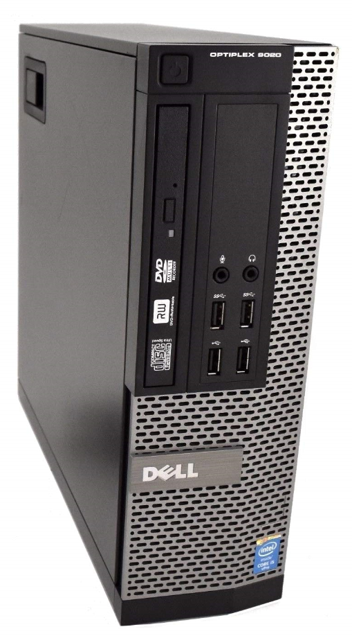 Dell OptiPlex 9020 SFF 4th Gen Quad Core i5-4570 8GB 120GB SSD Windows 10 Professional Desktop PC Computer